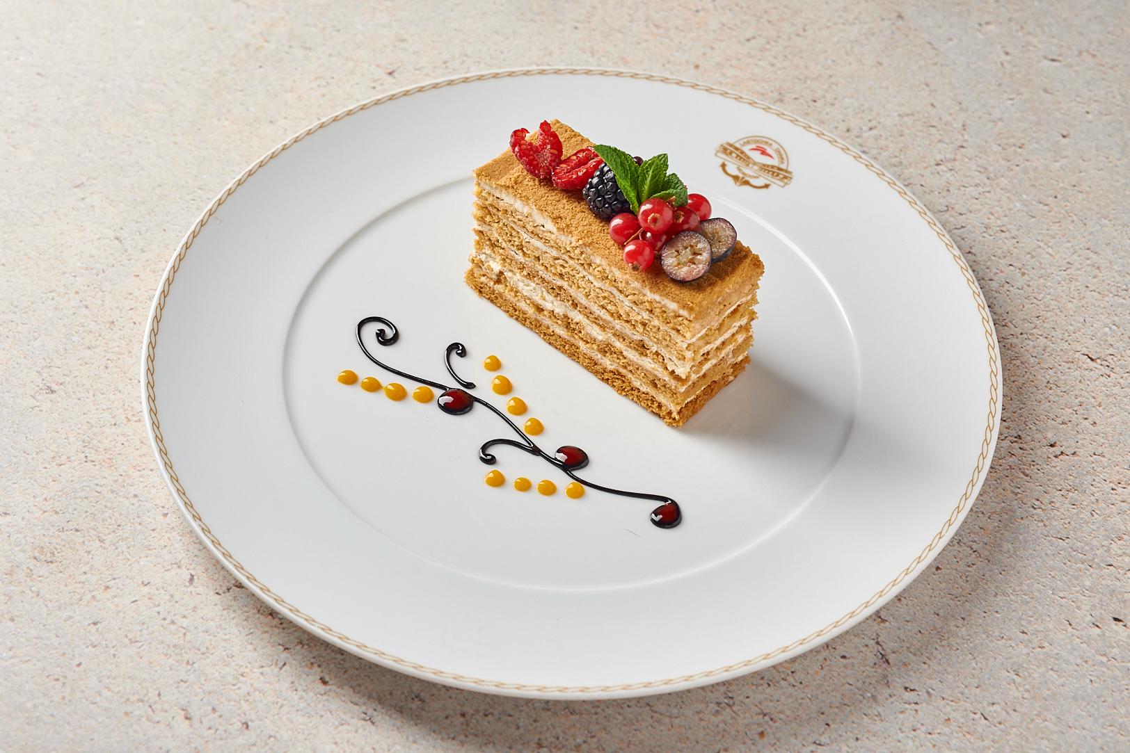 Медовый торт