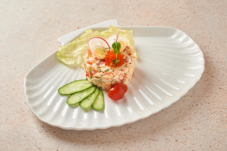 «Руссо» с крабом и морепродуктами